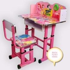 Bộ bàn ghế cho học sinh hoạt hình