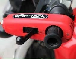 Khóa tay ga khóa phanh Cap Lock chống chộm xe máy