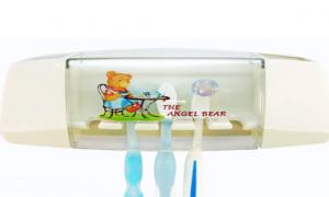 Bộ hộp đựng bàn chải , kem đánh răng Angel Bear