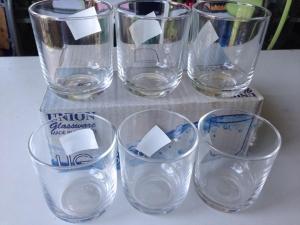 Bộ ly thủy tinh cao cấp 12 cái - Hàng Thái Lan