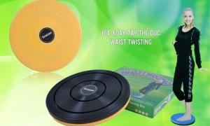 Dụng cụ xoay eo - phương pháp đơn giản, hiệu quả nhất để có một vòng eo thon gọn