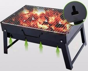 Bếp nướng than hoa vuông cao cấp BBQ