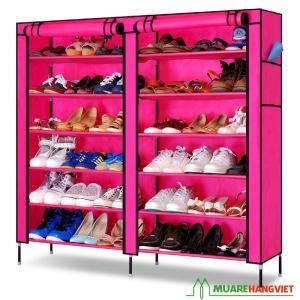 Tủ vải đựng giầy cao cấp 12 ngăn