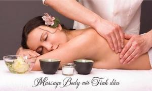 Xông hơi và massage toàn thân với tinh dầu thiên nhiên