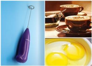 Giá sốc xả hàng: Máy tạo bọt cafe và đánh trứng dùng pin cầm tay
