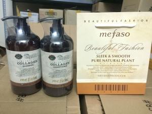 Bộ gội xả Collagen Mefaso Ý