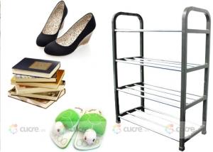 Sắp xếp giày dép thông minh, tiện lợi với Kệ để giày 4 tầng
