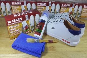Bộ sản phẩm làm sạch giày da, túi xách DR Clean