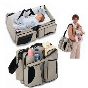 Giường cho bé/ Túi cho mẹ.Sản phẩm 2 trong 1 tiện dụng